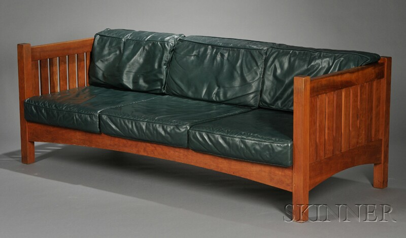 """Thomas Moser """"New Century"""" Couch"""