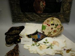 Approximately Twenty-two Embroidered Textile Items