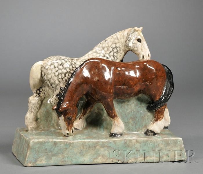 Stella R. Crofts Horse Sculpture