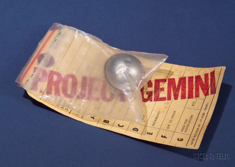 Project Gemini Space Flight Capsule Floatation Ball