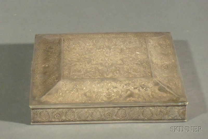 Middle Eastern Silver Box