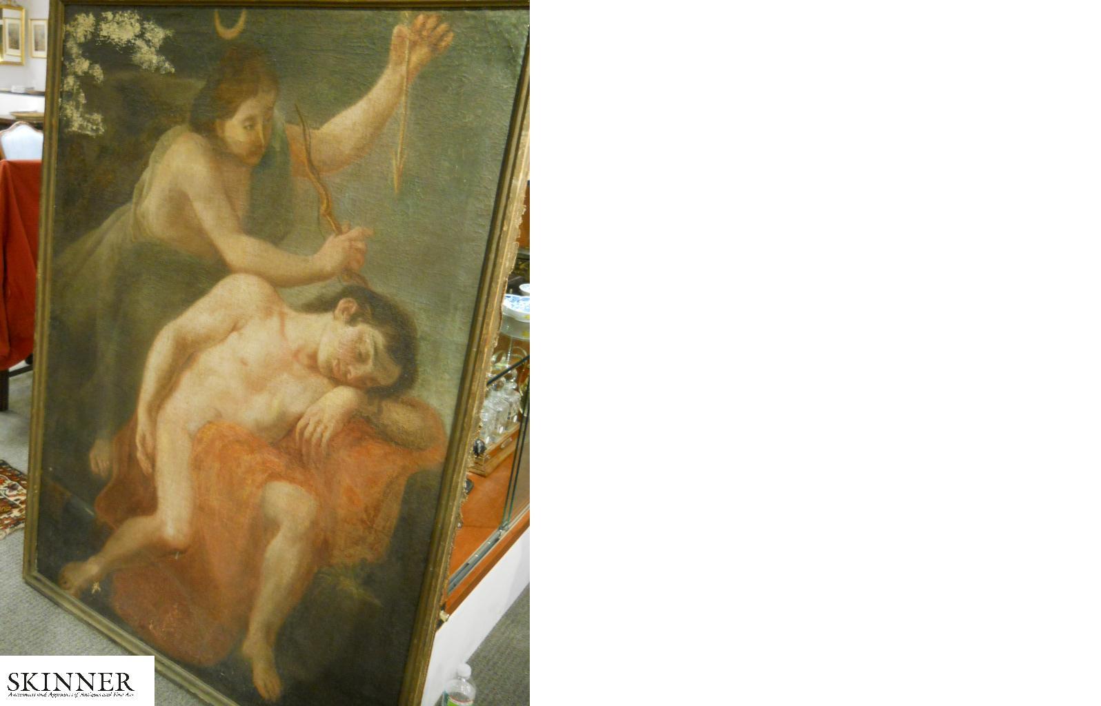 Italian School, 17th/18th Century      Diana and Actaeon