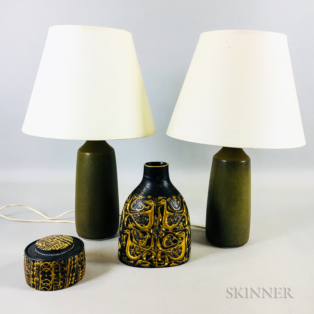 Group of Danish Modern Studio Pottery