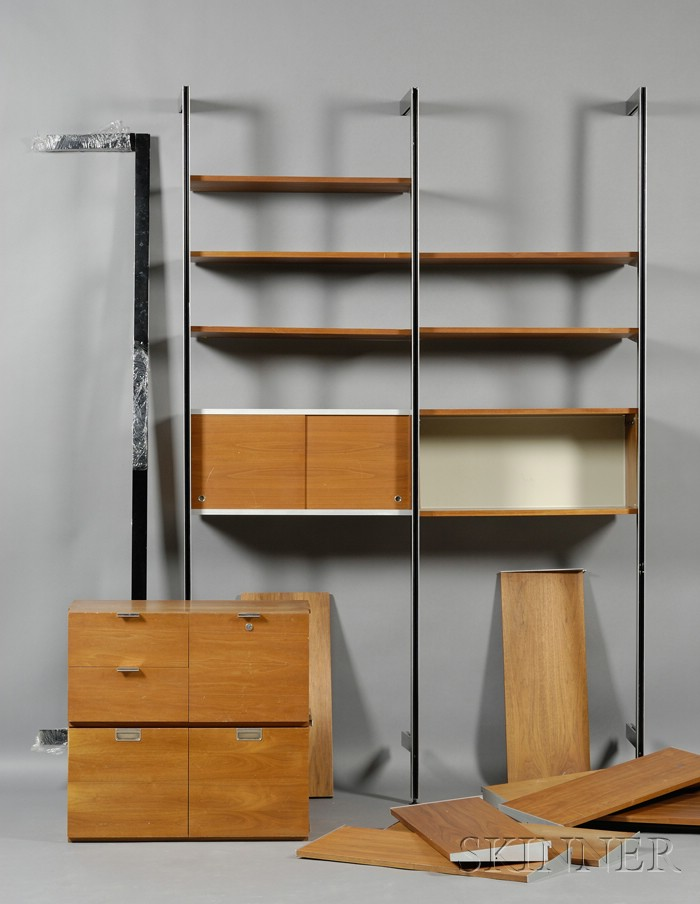 George Nelson Comprehensive Storage System Wall Unit