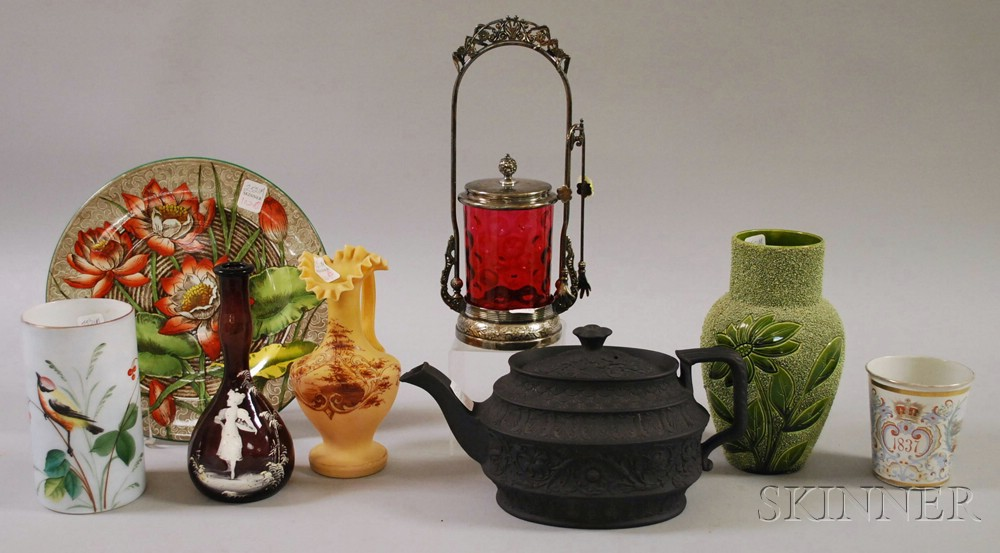 Eight Assorted Victorian Items