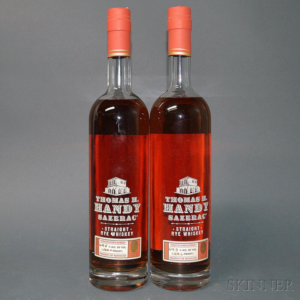 Buffalo Trace Antique Collection Thomas H. Handy Sazerac Rye, 2 750ml bottles