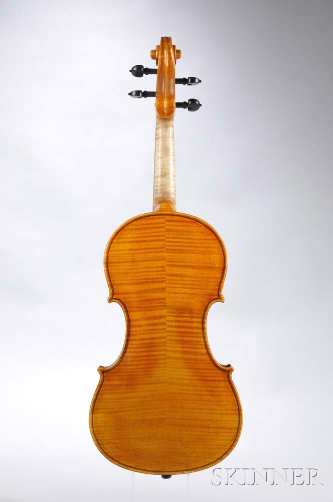 Hungarian Violin, Workshop of Luciano Tomassi, Budapest, 2012