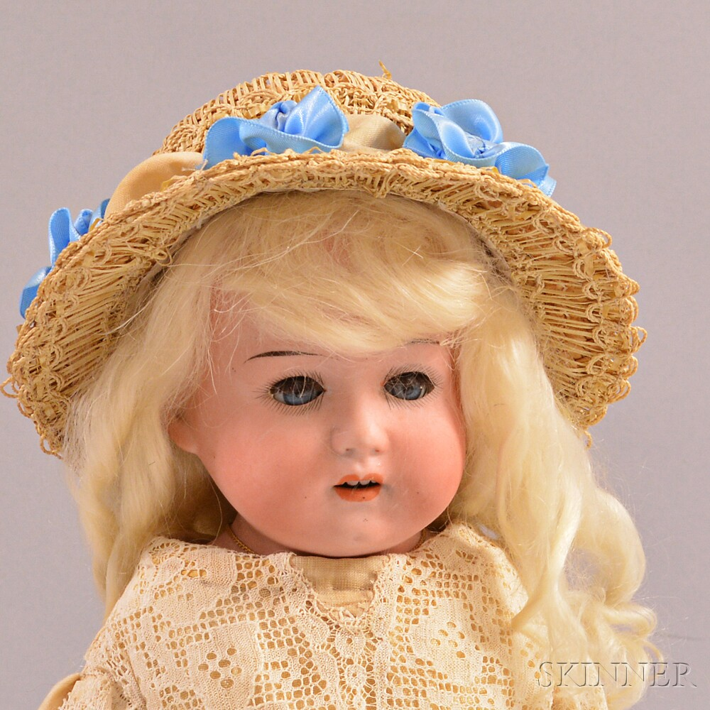 Heubach Koppelsdorf Bisque Shoulder Head Doll