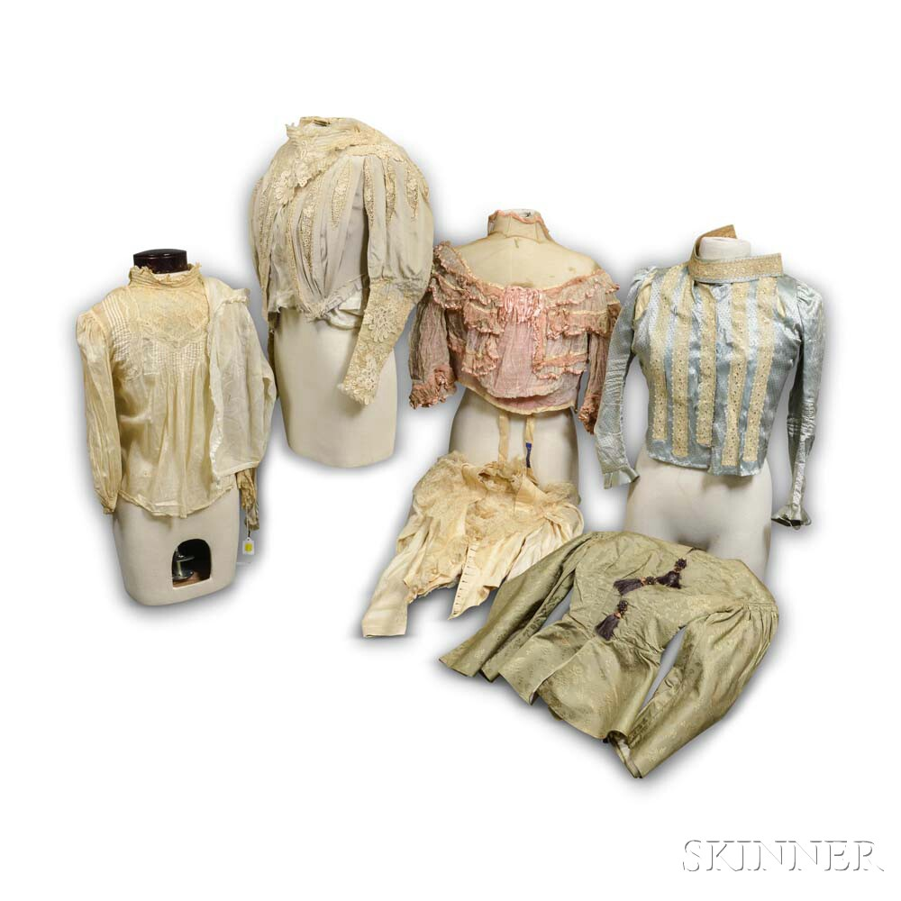 Group of Victorian Clothing
