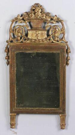 French Louis XVI-style Giltwood Mirror