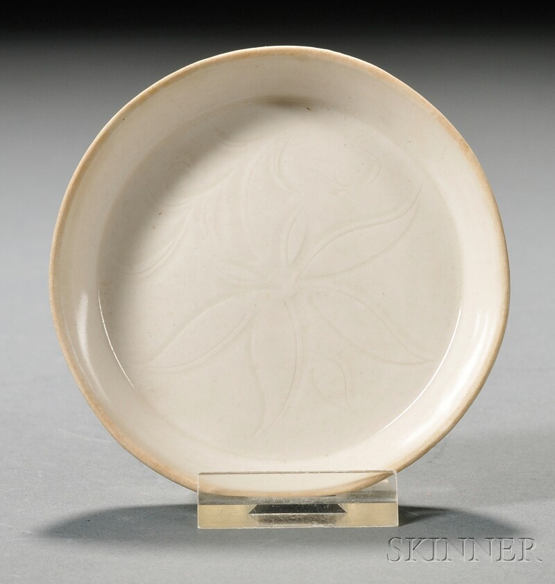White Ware Saucer