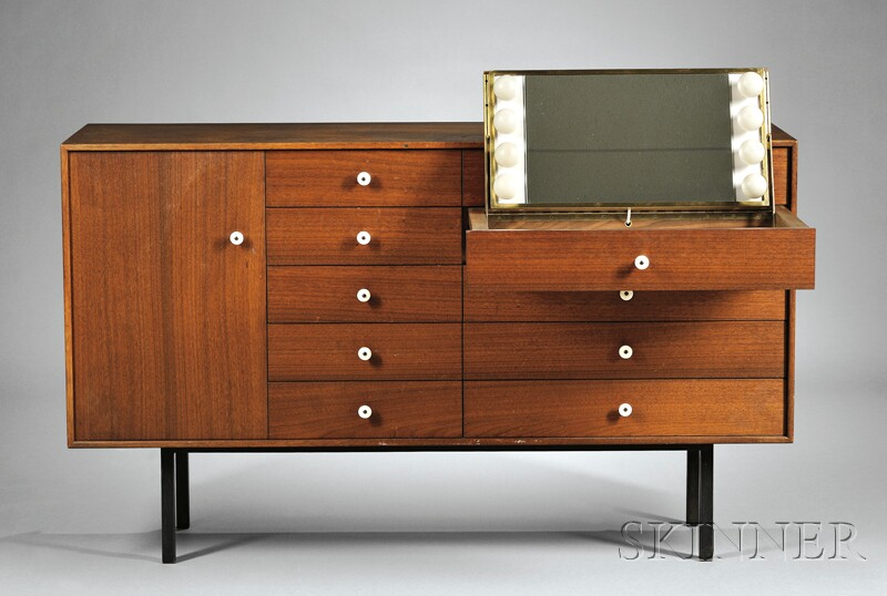 George Nelson Chest of Drawers with Vanity Drawer