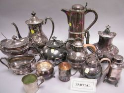 Group of Silver Plated Hollowware