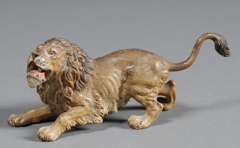 Viennese Bronze Figure of a Lion
