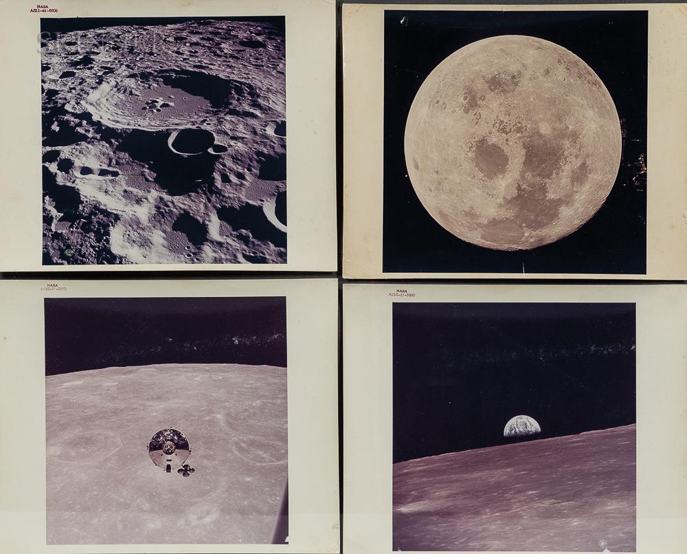 Thomas Stafford (American, b. 1930), Eugene Cernan (American, 1934-2017), or John Young (American, b. 1930) and Neil Armstrong (America