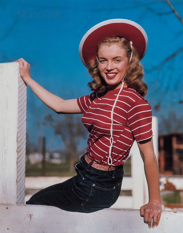 Richard C. Miller (American, 1912-2010)      Two Photographs of Marilyn Monroe
