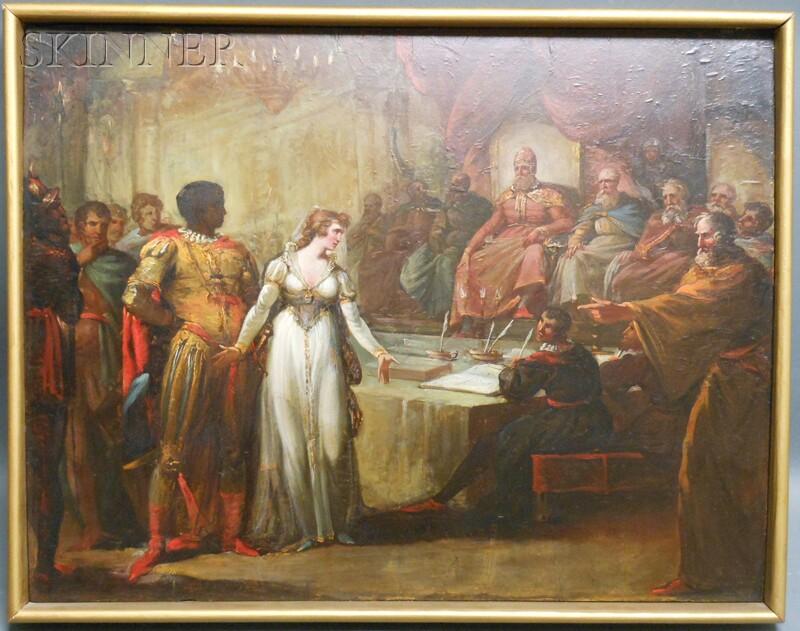 Attributed to William Hamilton (British, 1751-1801)      Act 1, Scene III from Othello