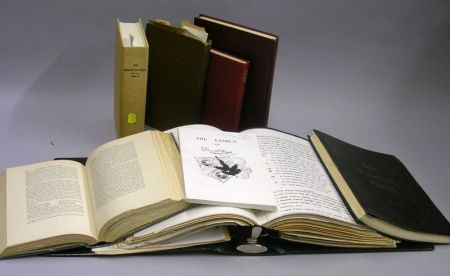 Collection of Bound and Compiled Family Genealogies