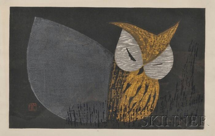 Kaoru Kawano (Japanese, 1916-1965)      Owlet