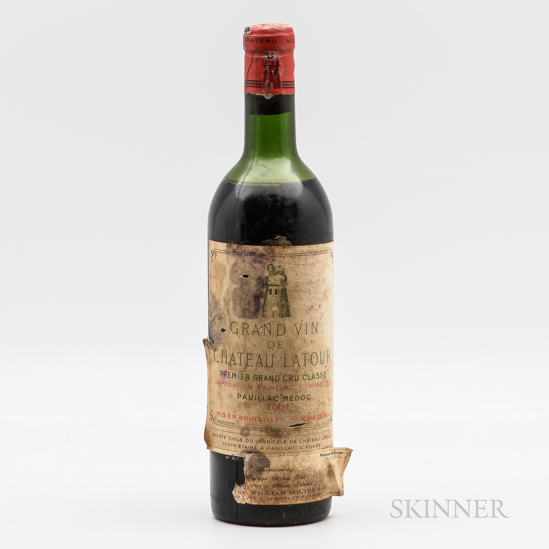 Chateau Latour 1961, 1 bottle