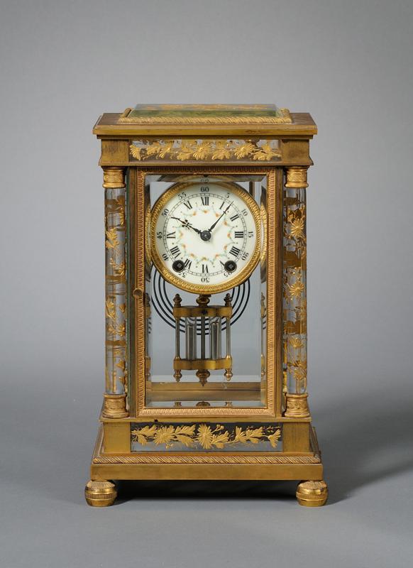 Crystal Regulator Clock by Seth Thomas