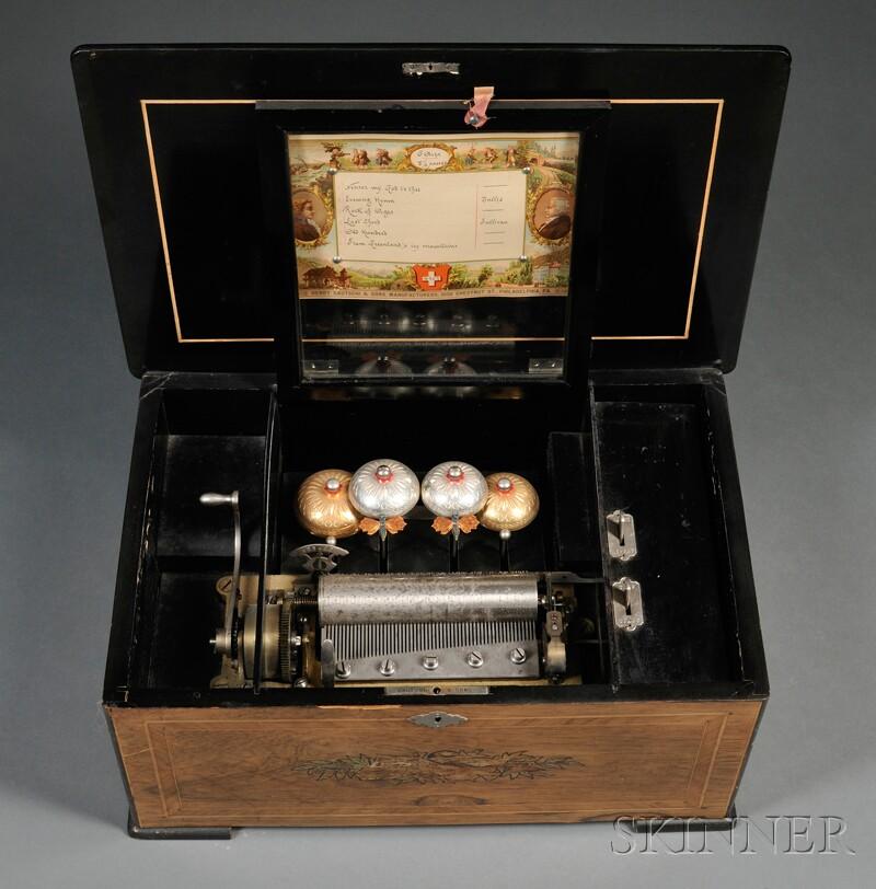 Henry Gautschi & Sons Cylinder Music Box