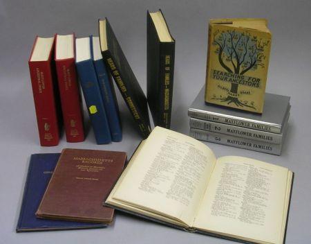 Thirteen Bound Genealogical Related Books