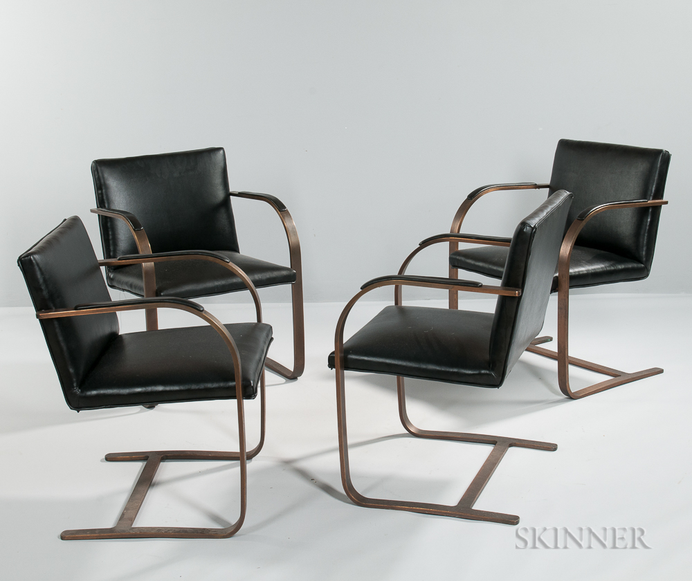 Four Ralph Lauren Armchairs
