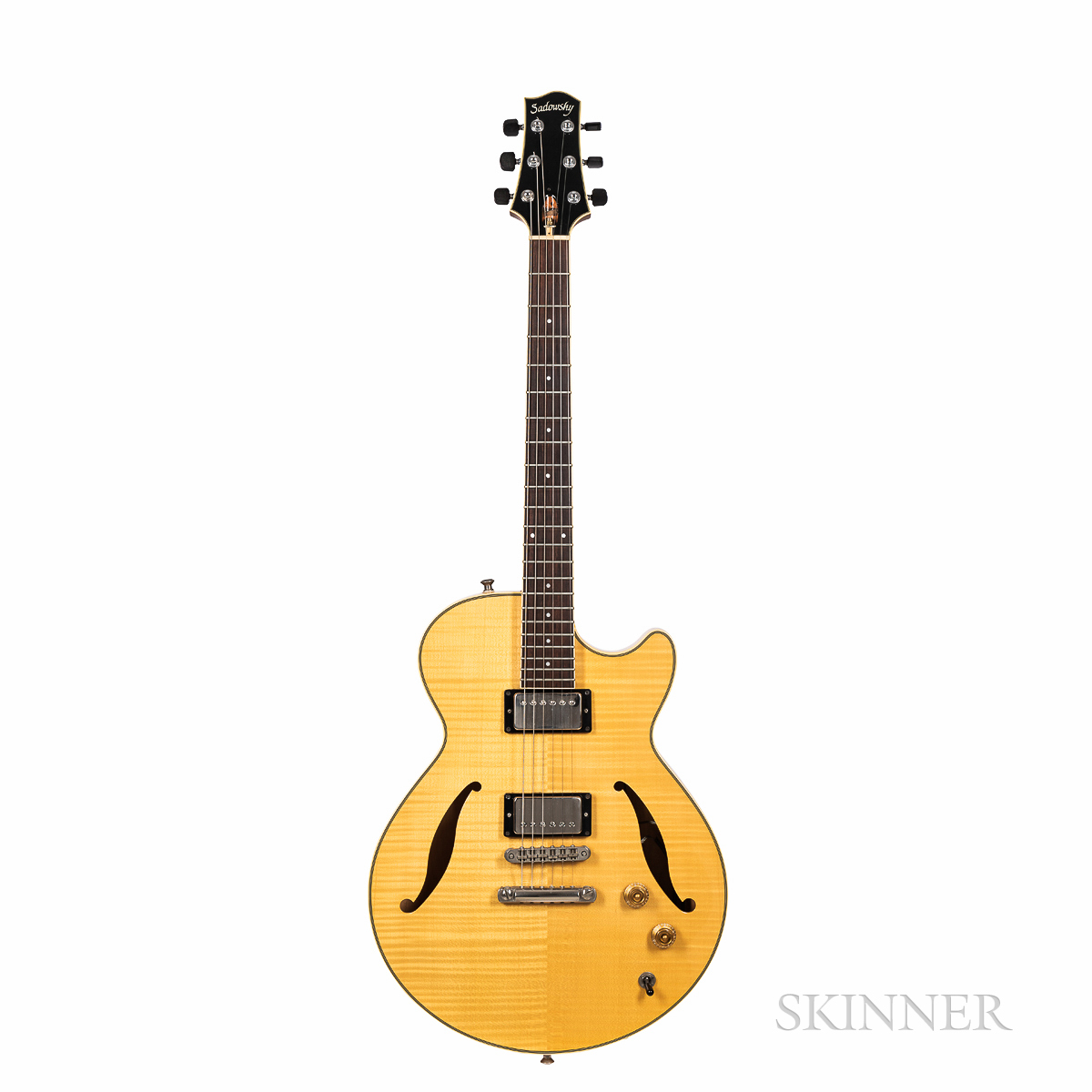 John Abercrombie   Sadowsky Semi-Hollow Prototype Electric Guitar, 2006