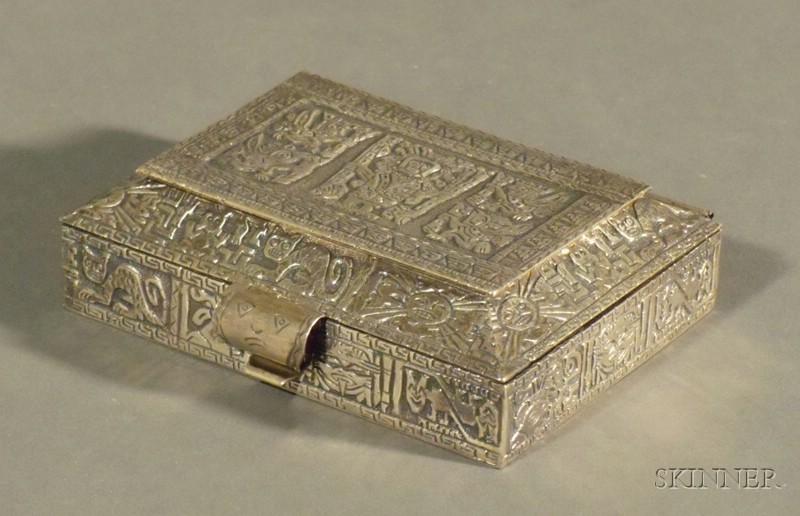 Peruvian Sterling Box