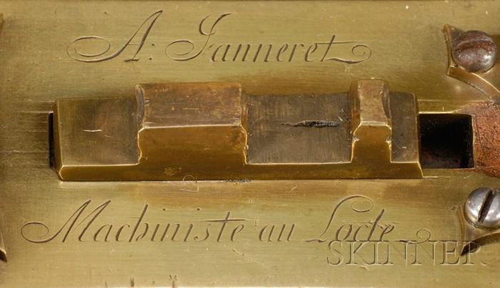 Brass Machine-a-Raboter by A. Janneret