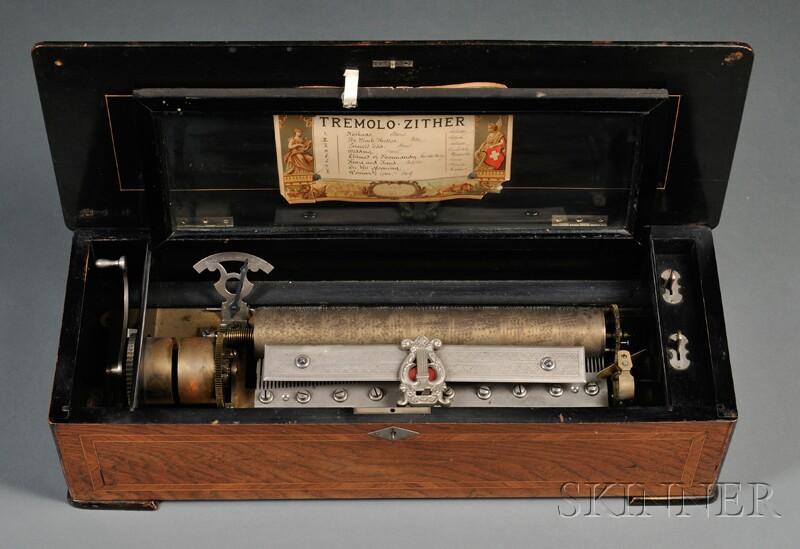 Tremolo Zither Music Box