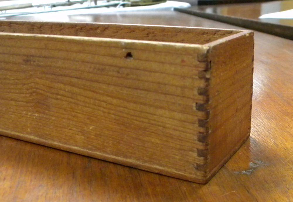 Shaker Small Rectangular Box