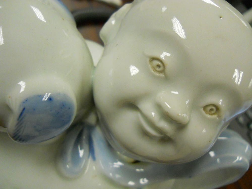 Hirado Blue and White Pitcher