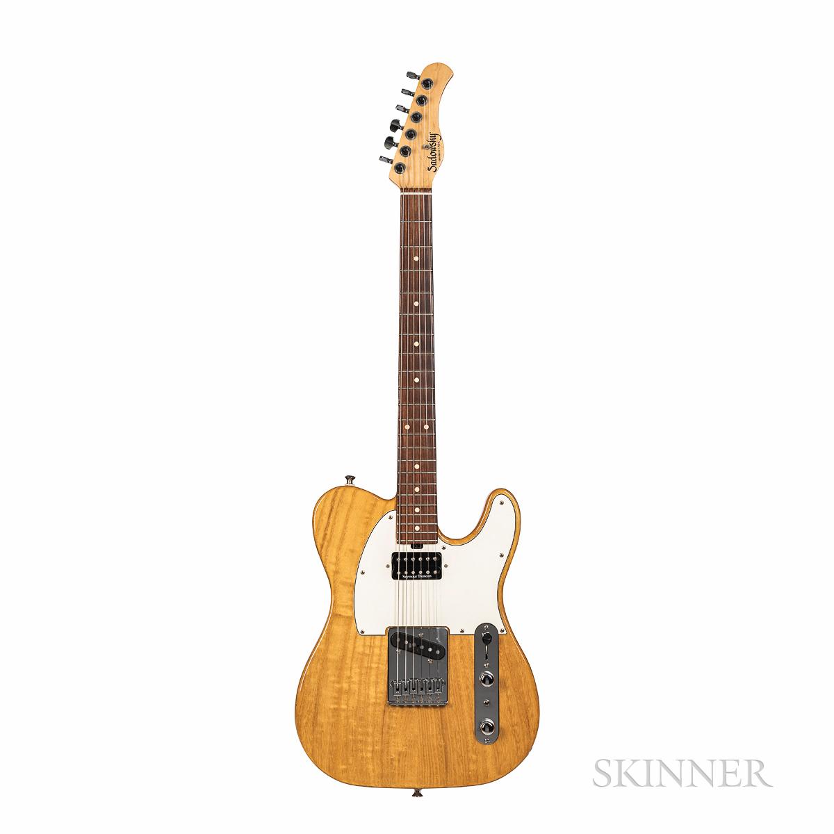 John Abercrombie   Sadowsky Paulownia T-Style Electric Guitar, 2010