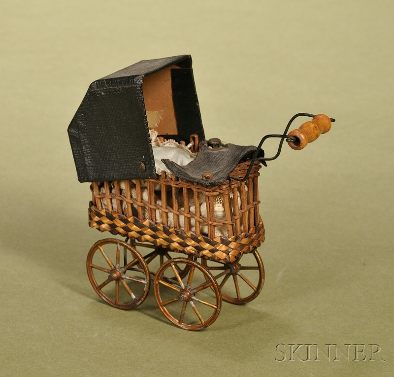 Miniature Doll's Carriage