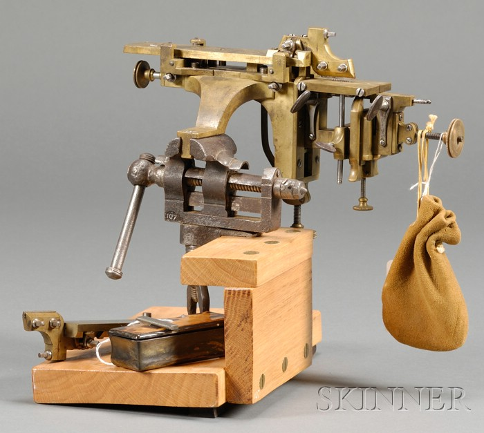 Brass Machine-a-Raboter and Accessories