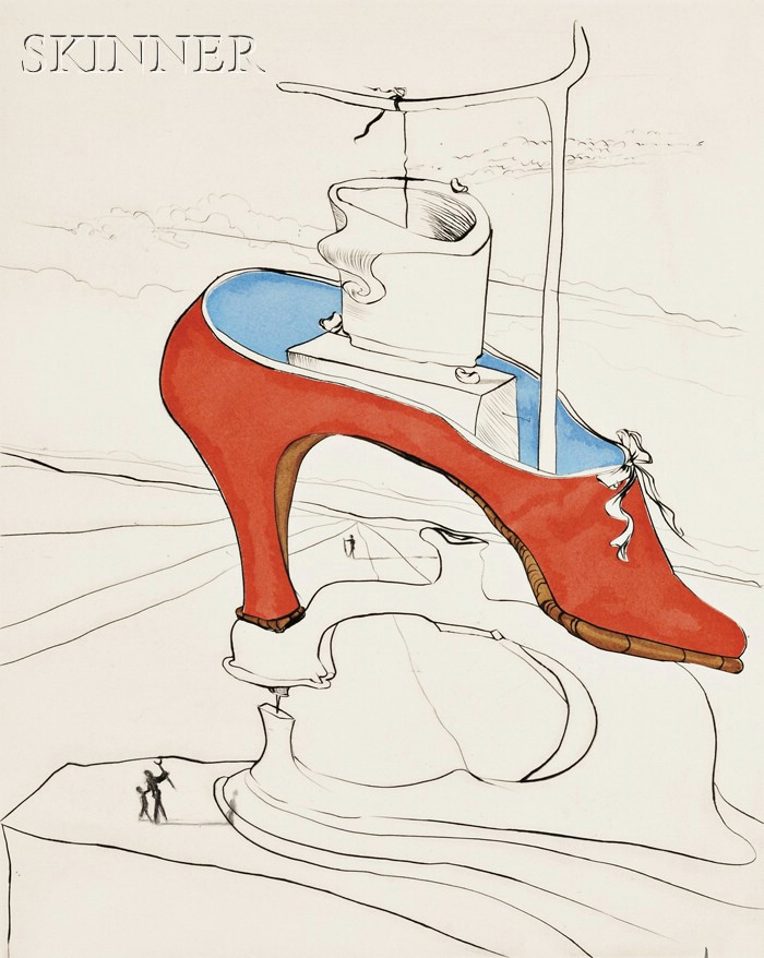 Salvador Dalí (Spanish, 1904-1989)      AFTER 50 YEARS OF SURREALISM