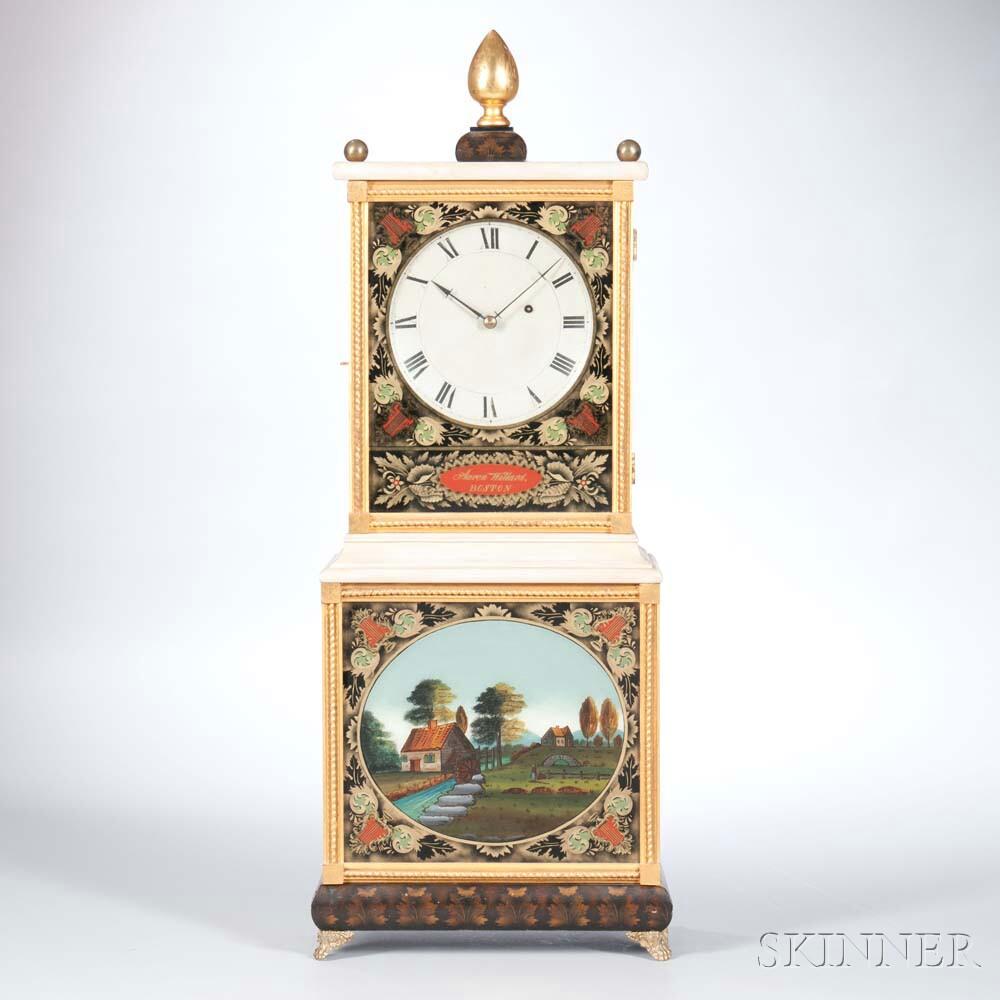 """Aaron Willard """"Bride's"""" Shelf Clock"""