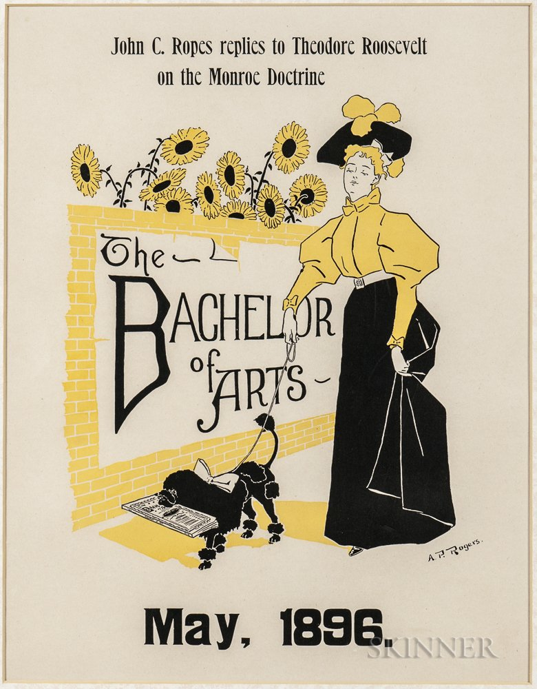 Rogers, A.P. (fl. circa 1890) The Bachelor of Arts, May   [1896] Poster.