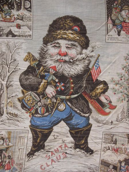 Santa Claus Banner by Oriental Print Works