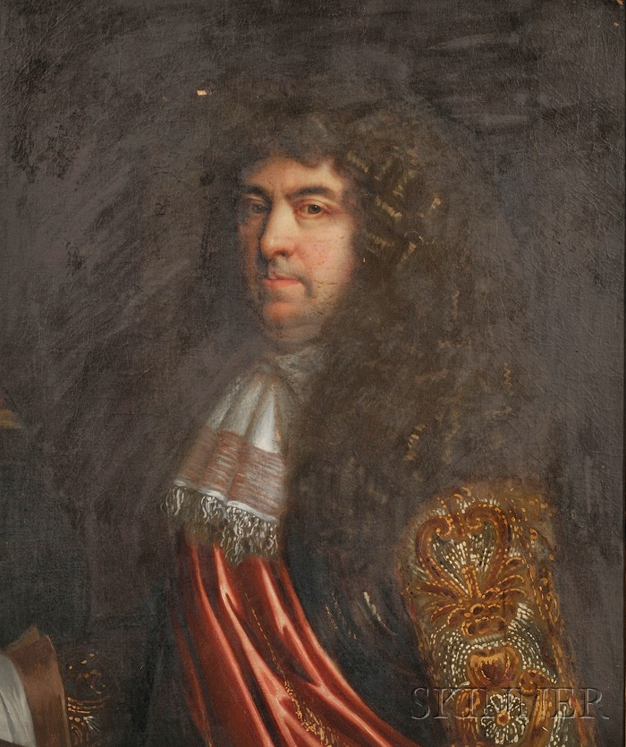 Continental School, 17th Century Style      Portrait of a Gentleman