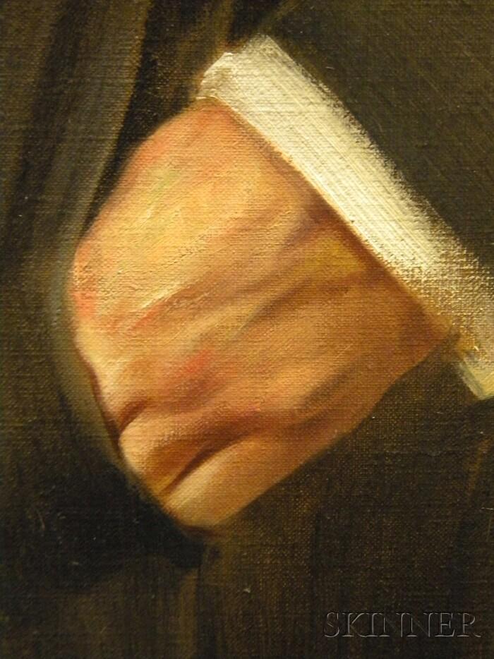 Caspar Ritter (German, 1861-1923)      Portrait of Alexander Rübel