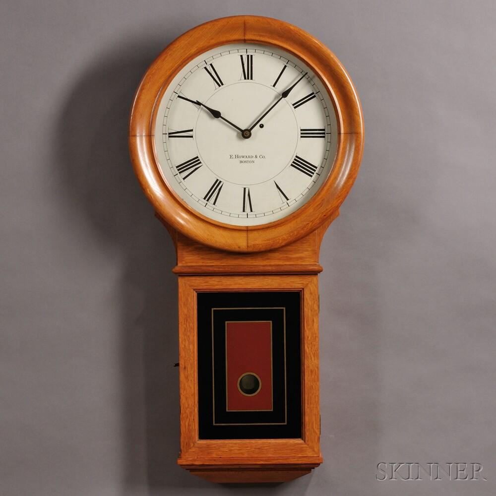 E. Howard No. 70 16-inch Dial Wall Regulator