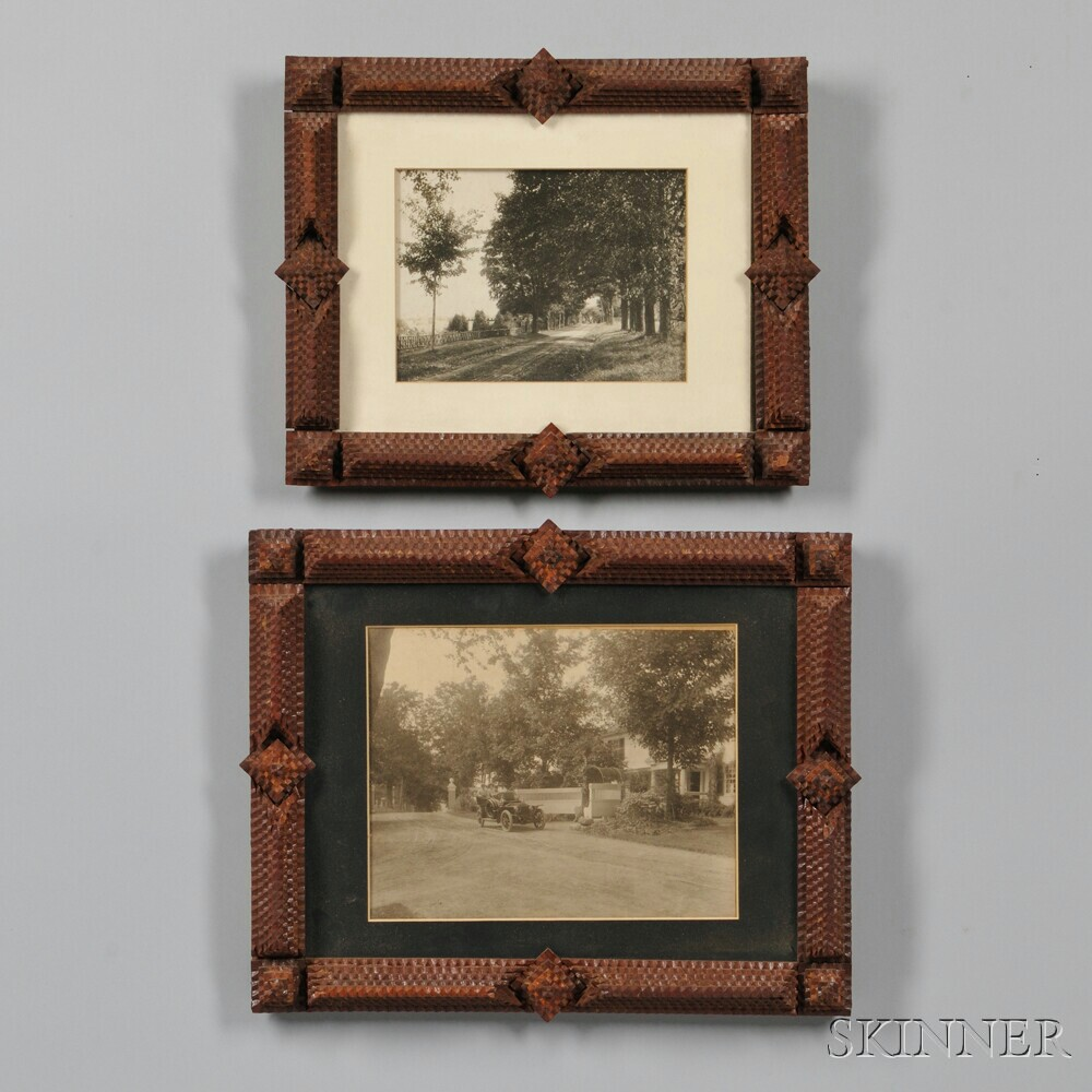 Two Similar Tramp Art Frames | Sale Number 2880B, Lot Number 501 ...