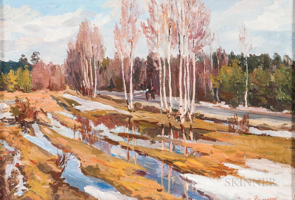 Dmitry Fedorovich Chumakov (Russian, 1913-c. 1980s)     Spring