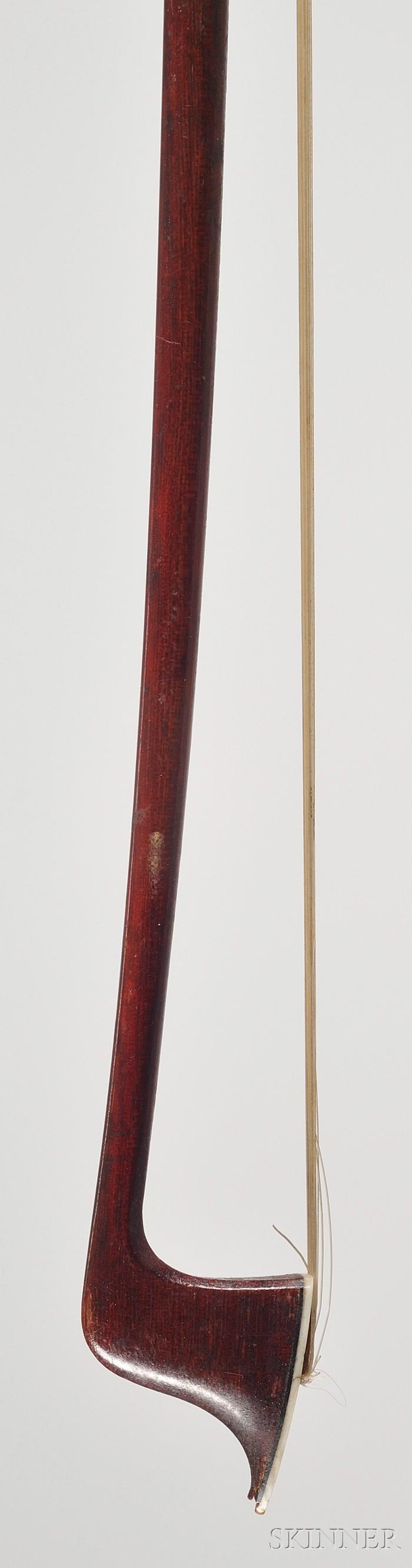 Nickel Mounted Violin Bow