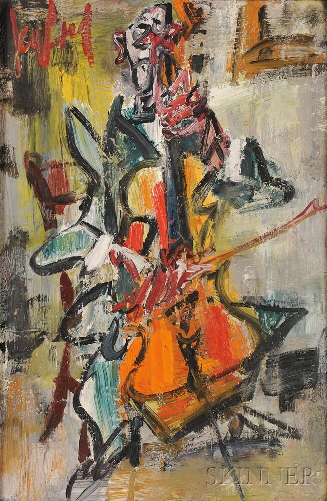 Gen Paul (French, 1895-1975)      The Cellist