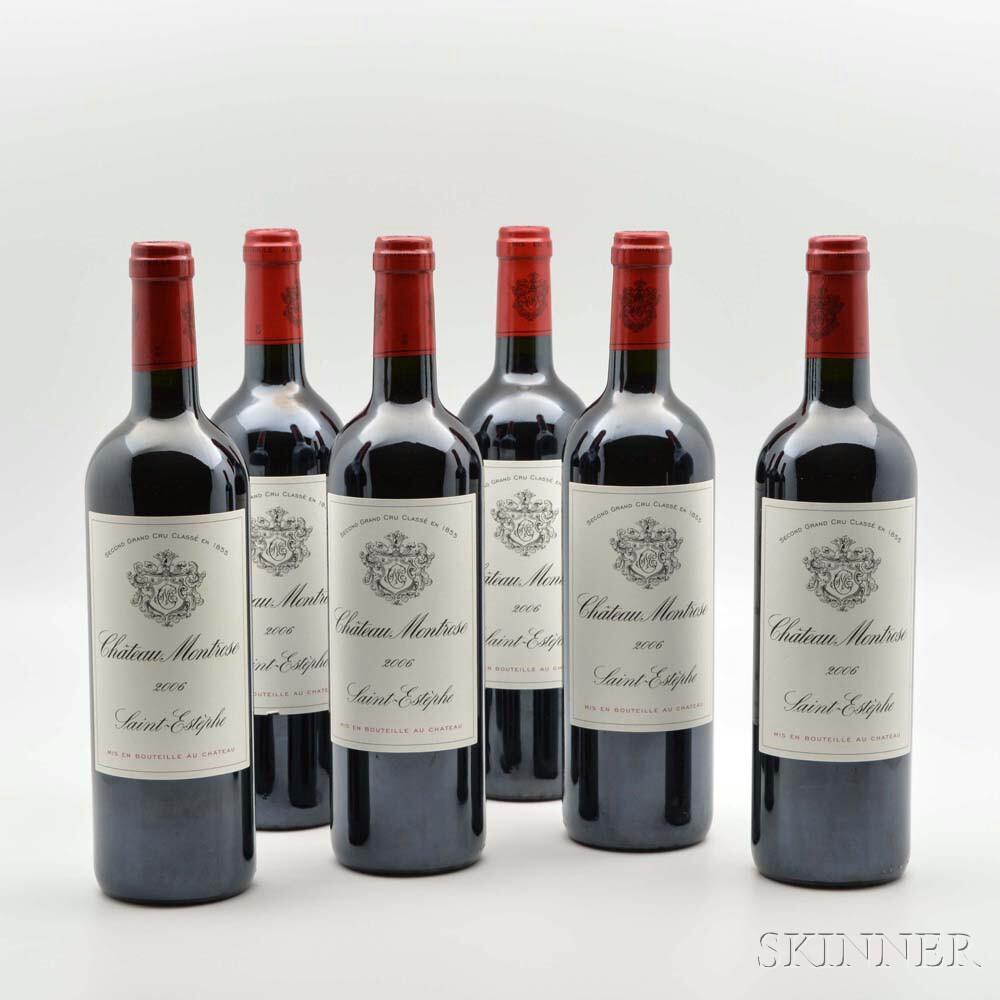 Chateau Montrose 2006, 6 bottles