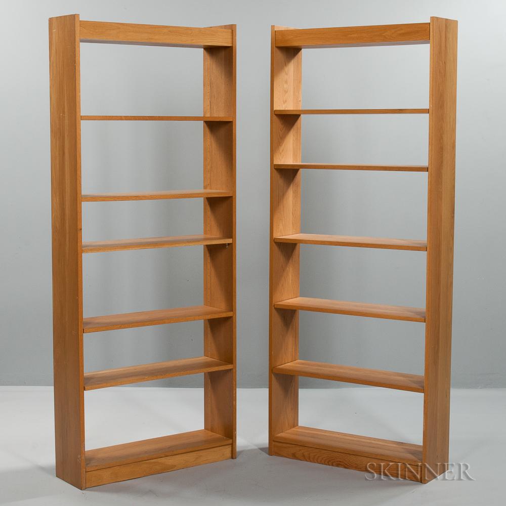 Pair of Charles Webb Bookshelves